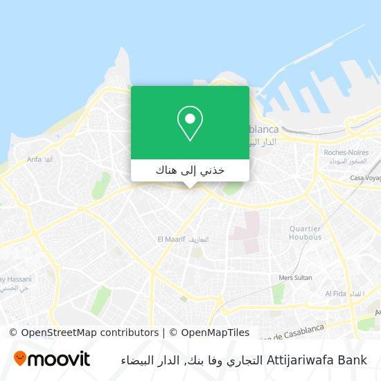 خريطة Attijari Wafabank