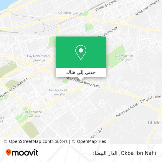 خريطة Okba Ibn Nafii