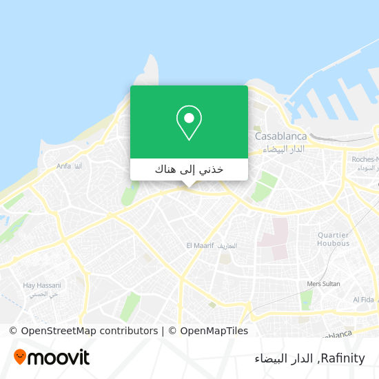 خريطة Rafinity