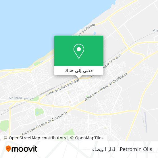 خريطة Petromin Oils