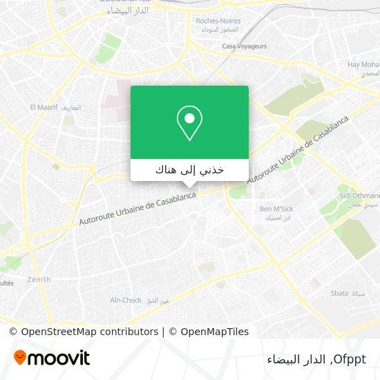 خريطة Ofppt