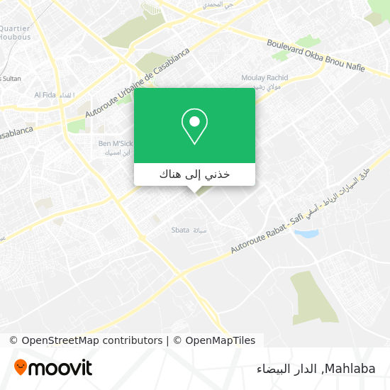 خريطة Mahlaba
