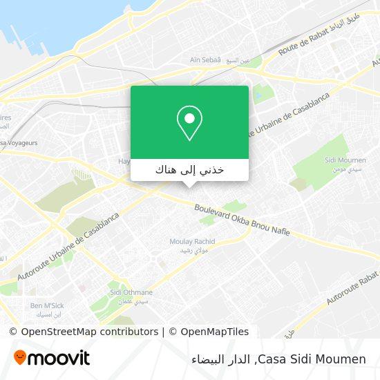خريطة Casa Sidi Moumen