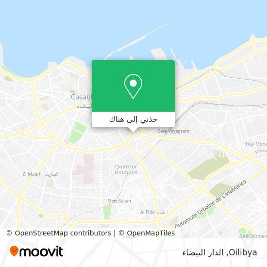 خريطة Station Oilibya