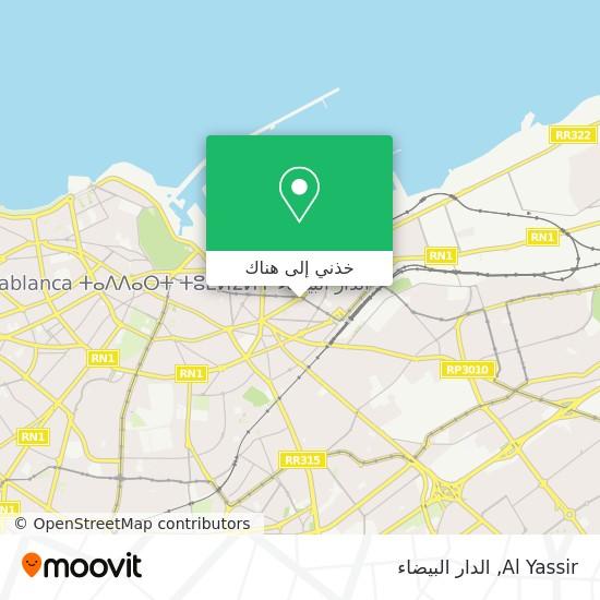 خريطة Al Yassir
