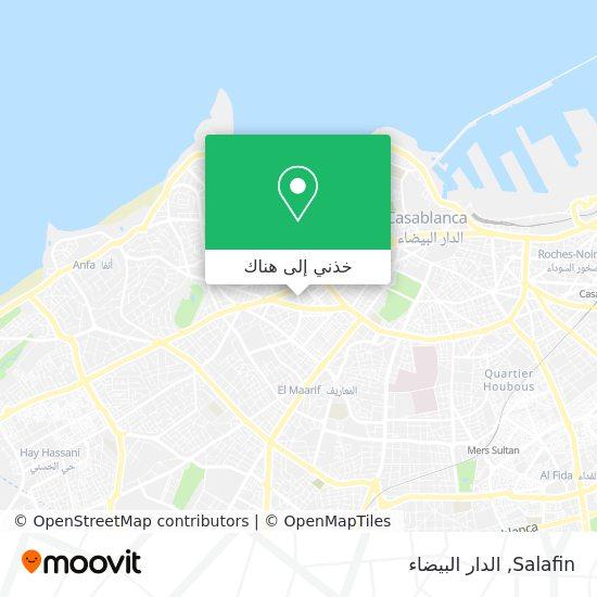خريطة Salafin