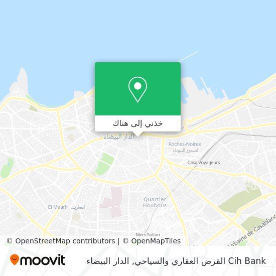 خريطة Cih Bank