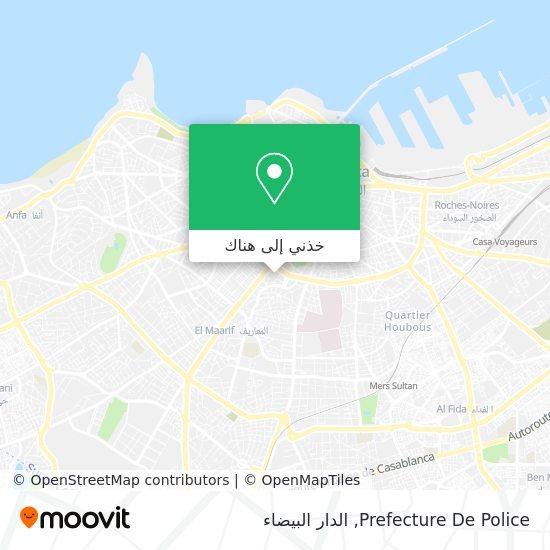 خريطة Prefecture De Police