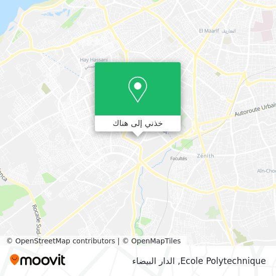 خريطة Ecole Polytechnique