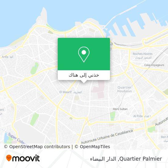 خريطة Quartier Palmier