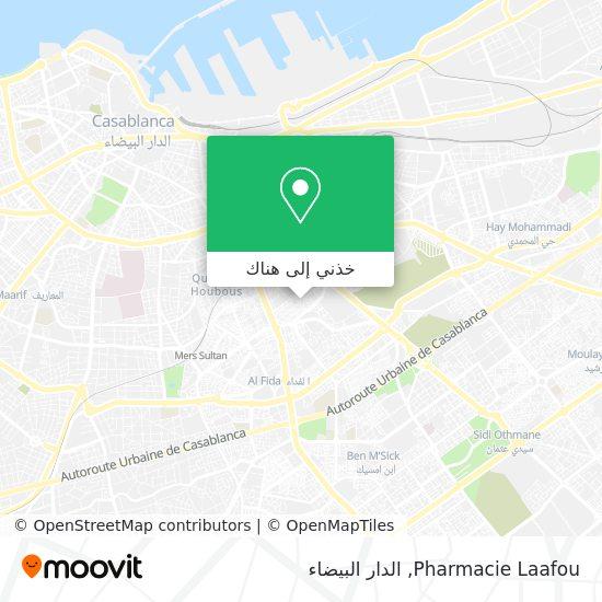خريطة Pharmacie Laafou