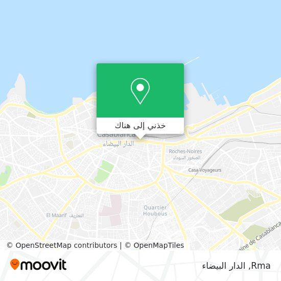 خريطة Rma