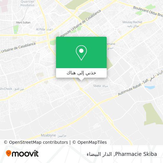 خريطة Pharmacie Skiba