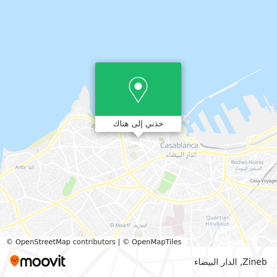 خريطة Zineb