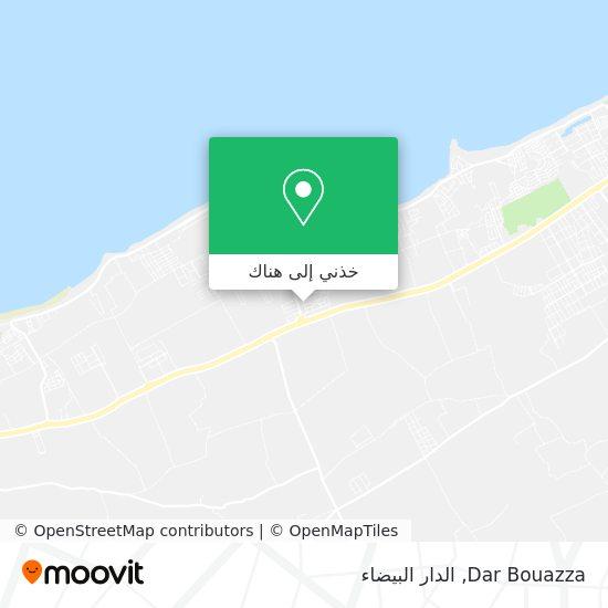 خريطة Dar Bouazza