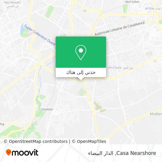 خريطة Casa Nearshore