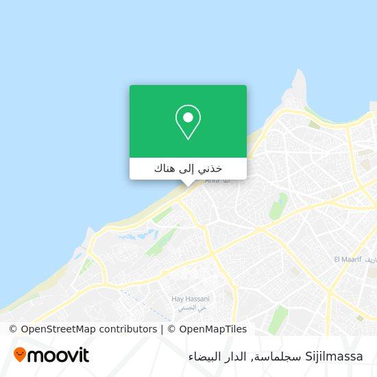 خريطة Sijilmassa سجلماسة