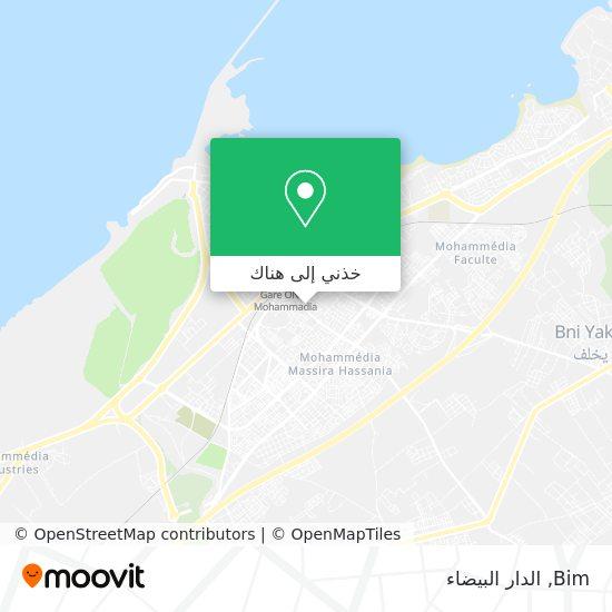 خريطة Bim