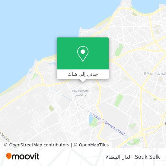 خريطة Souk Selk