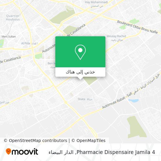 خريطة Pharmacie Dispensaire Jamila 4