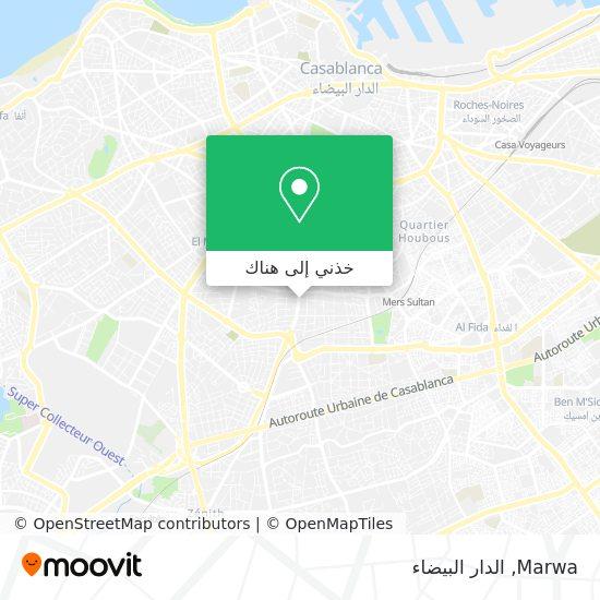 خريطة Marwa