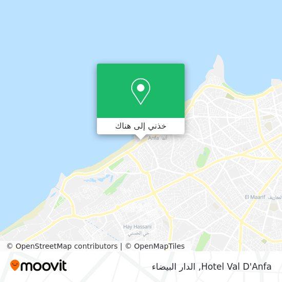 خريطة Hotel Val D'Anfa