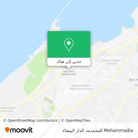 خريطة Mohammadia