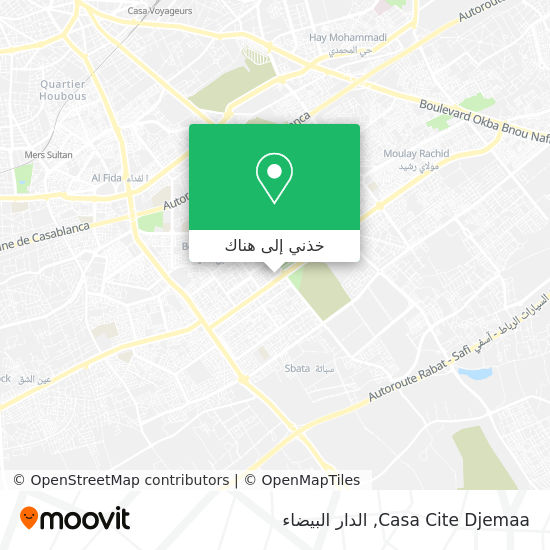 خريطة Casa Cite Djemaa