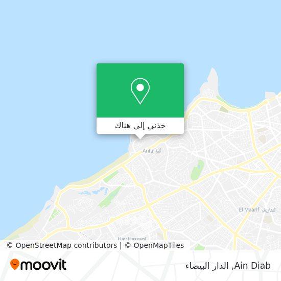 خريطة Ain Diab