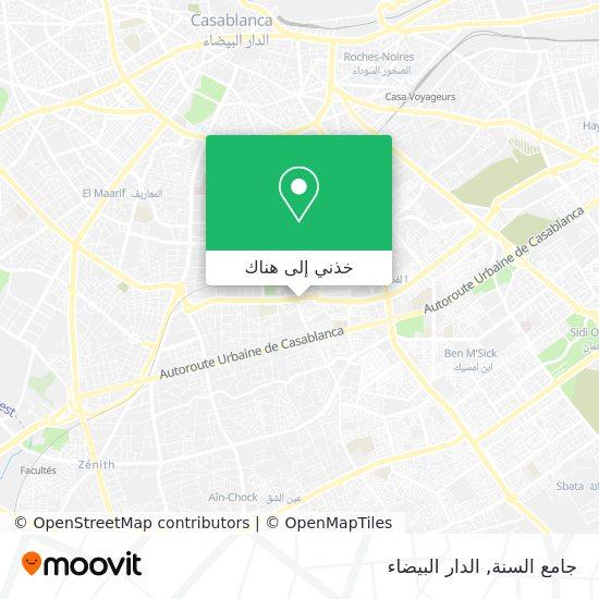 خريطة جامع السنة