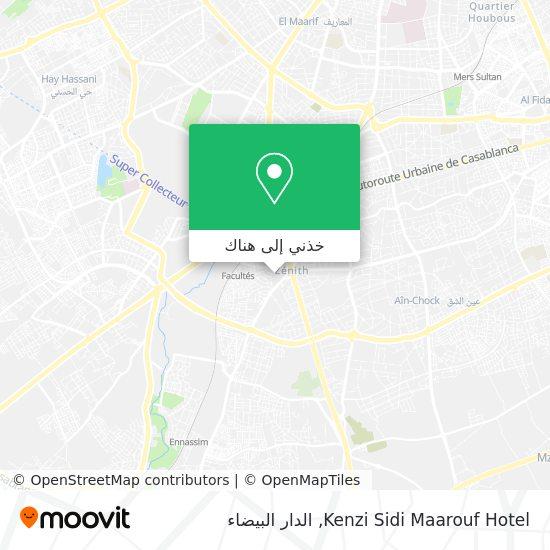 خريطة Kenzi Sidi Maarouf Hotel