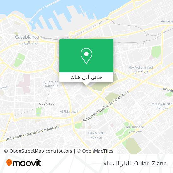 خريطة Oulad Ziane