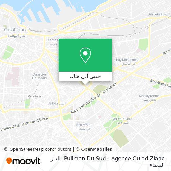 خريطة Pullman Du Sud - Agence Oulad Ziane