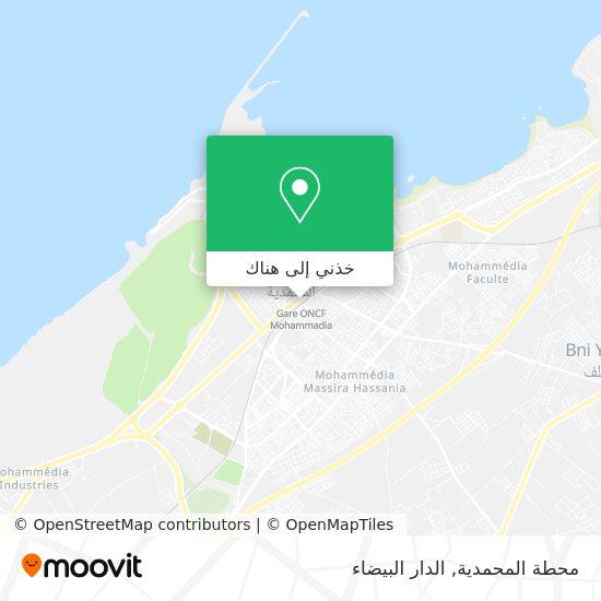 خريطة محطة المحمدية