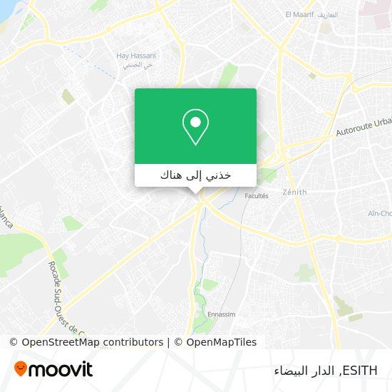 خريطة ESITH