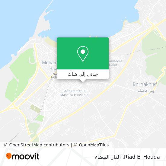 خريطة Riad El Houda