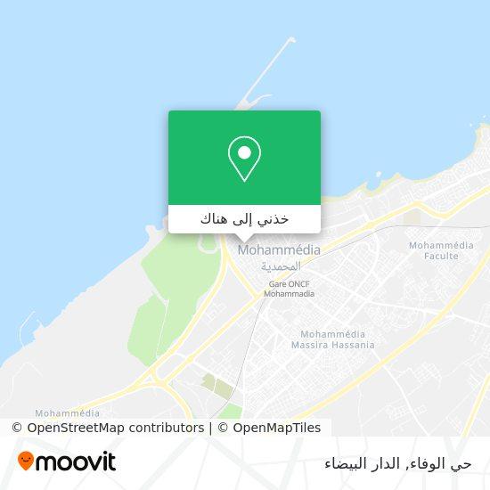 خريطة حي الوفاء