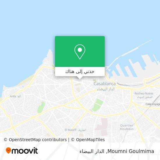 خريطة Moumni Goulmima