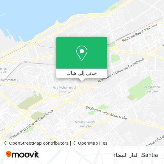 خريطة Santia