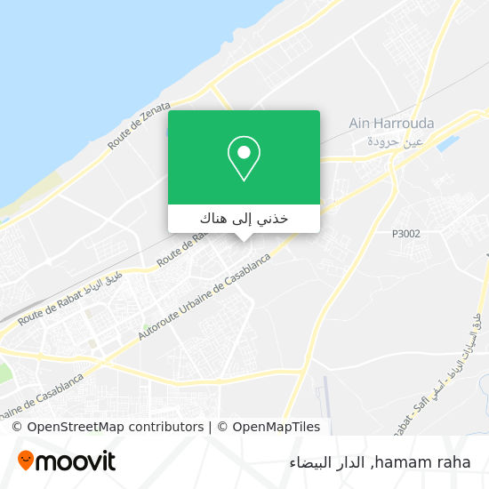 خريطة hamam raha