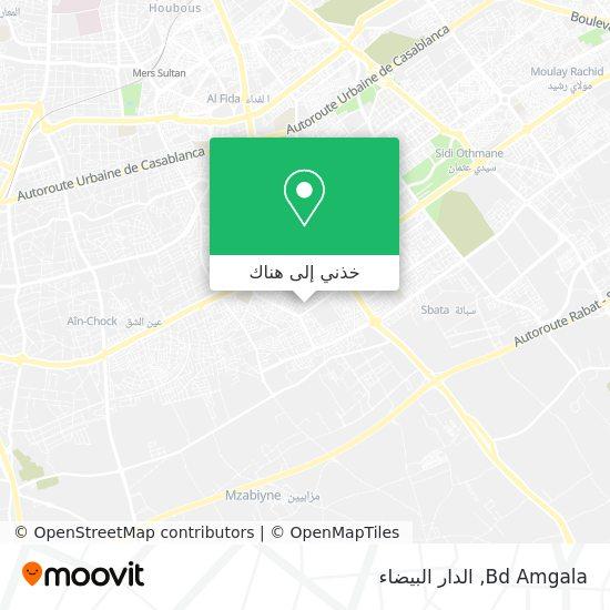 خريطة Bd Amgala