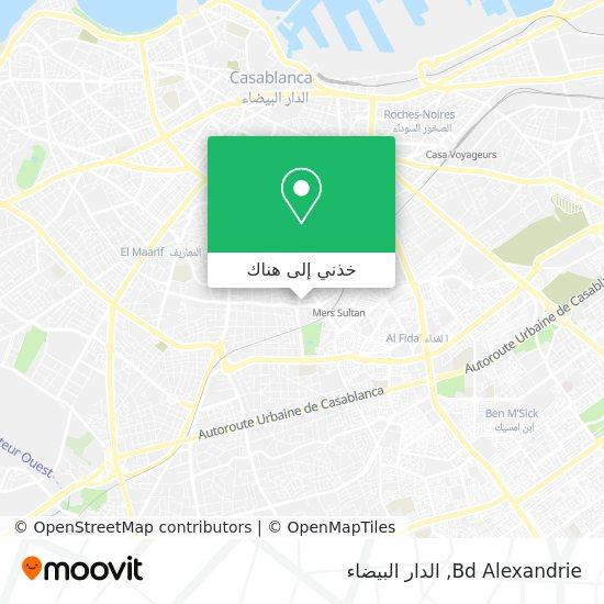 خريطة Bd Alexandrie