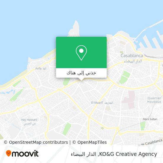 خريطة KO&G Creative Agency