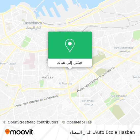 خريطة Auto Ecole Hasban
