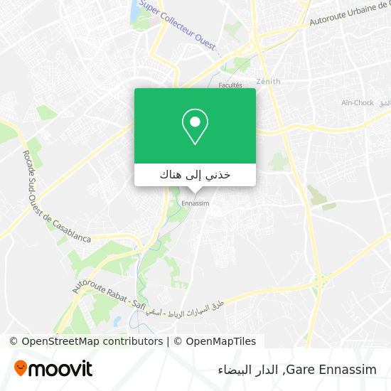 خريطة Gare Ennassim