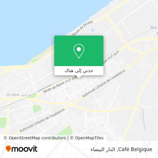 خريطة Café Belgique