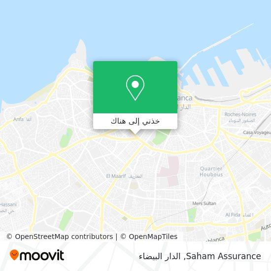 خريطة Saham Assurance