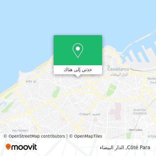 خريطة Côté Para