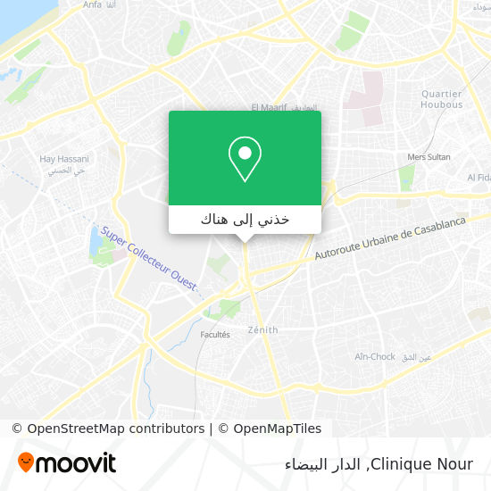 خريطة Clinique Nour