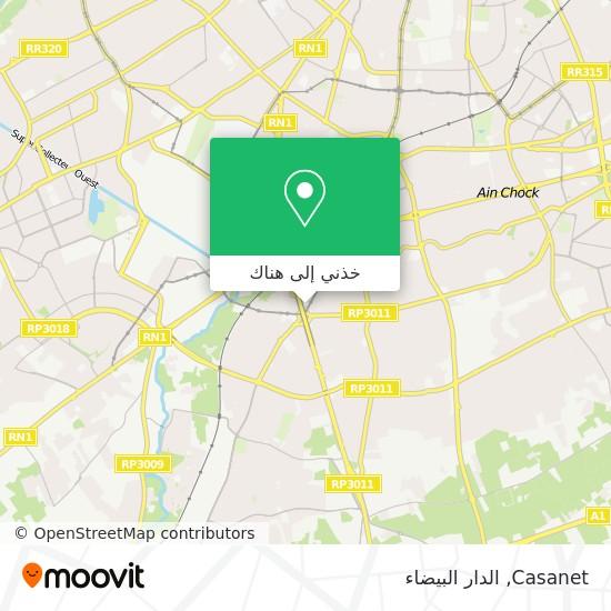 خريطة Casanet